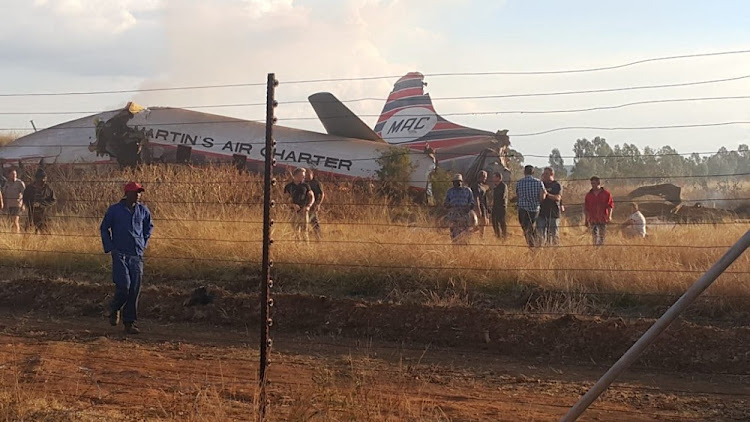 The passenger aircraft that crashed outside Pretoria' killing one person and leaving several others injured' was formerly used for luxury air safaris.