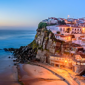Azenhas do Mar by Nuno Gomes - Landscapes Waterscapes ( sintra, portugal, azenhas do mar )