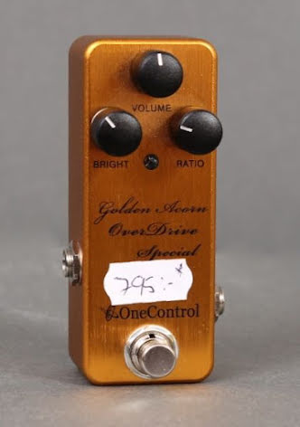 One Control Golden Acorn Overdrive Special USED. Good condition.