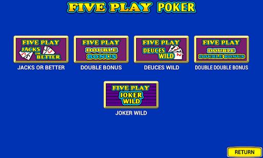 Five Play Poker  {cheat|hack|gameplay|apk mod|resources generator} 5