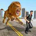 Wild Lion City Attack 2020: Lion Adventure icon