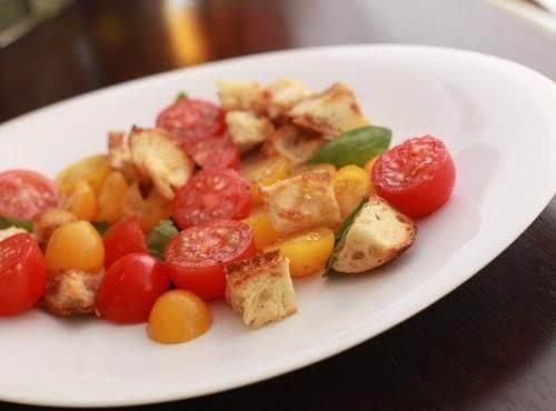 Panzenella W/strawberry Vinegarette Recipe
