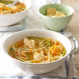 Ginger Chicken Noodle Soup.