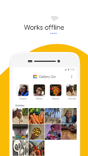 Gallery Go от Google Фото Screenshot