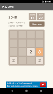 Jogue 2048 - Free - náhled