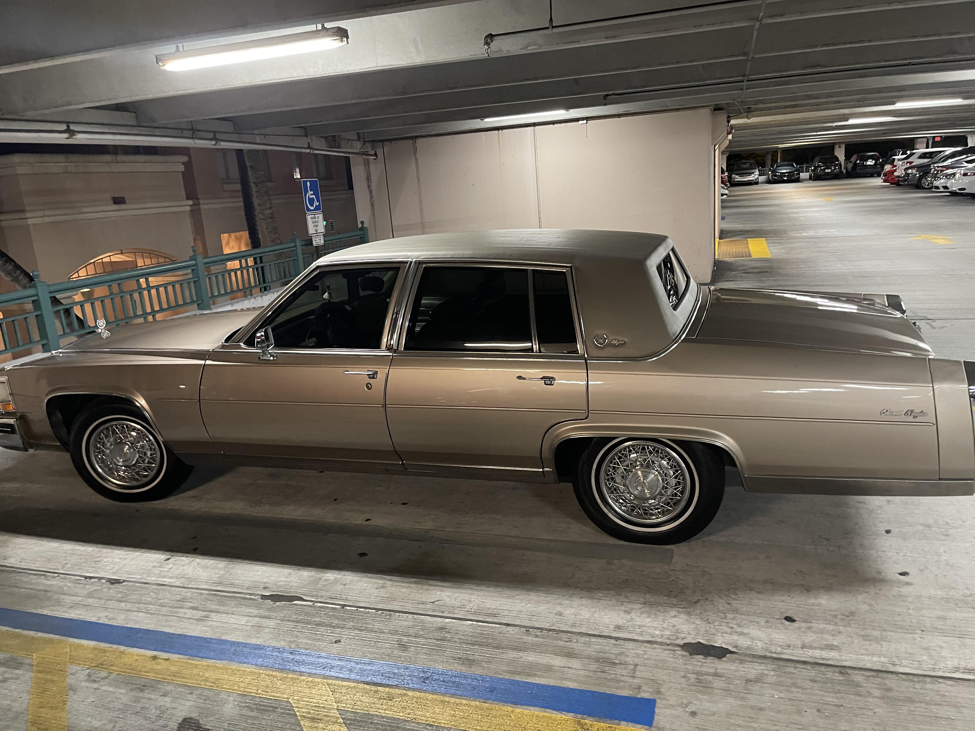 Cadillac Fleetwood Brogham D'Elegance Hire Boynton Beach