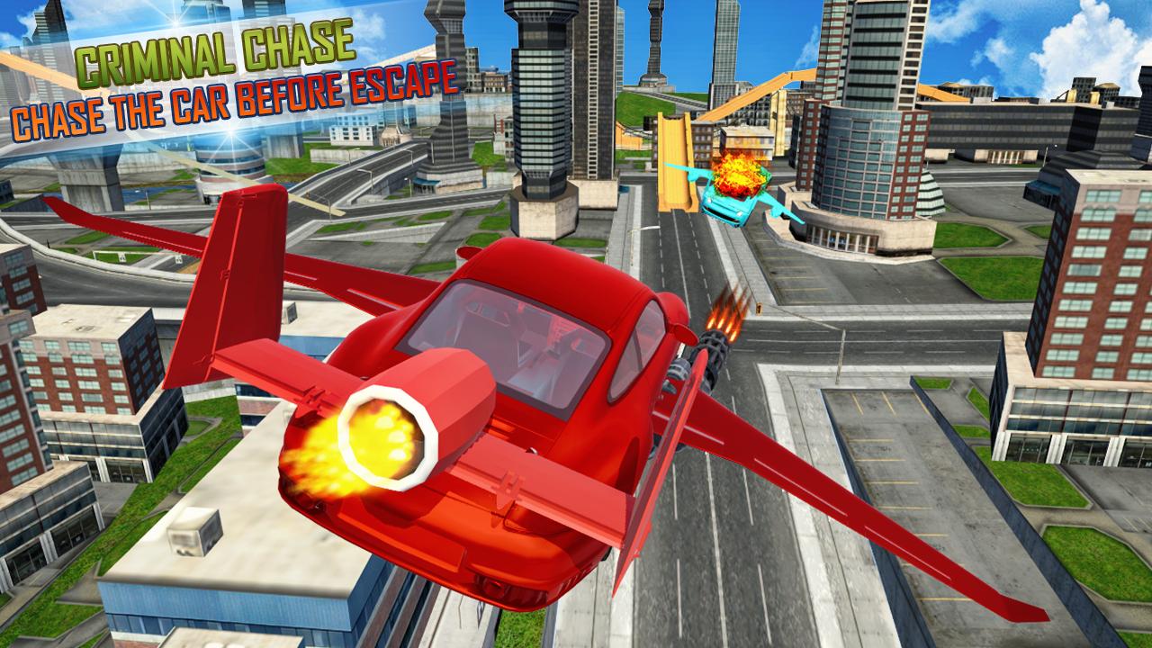 jeux de voiture volante