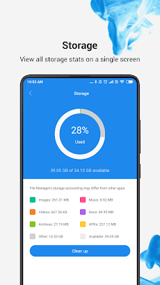 Mi File Manager - free and easilyのおすすめ画像1