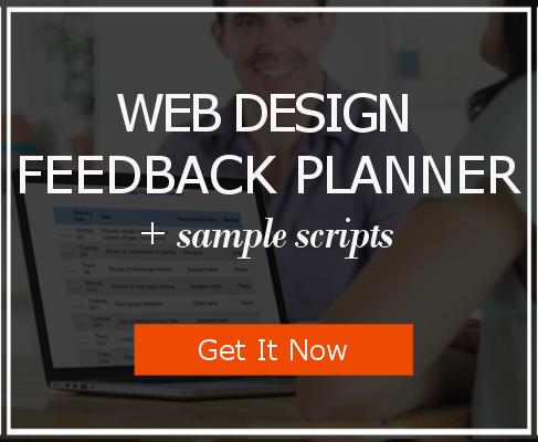 Download the Web Design Feedback Planner