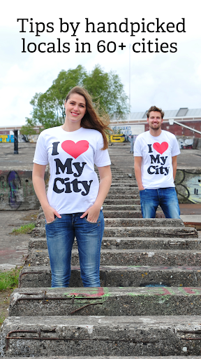 Offline city guides by locals