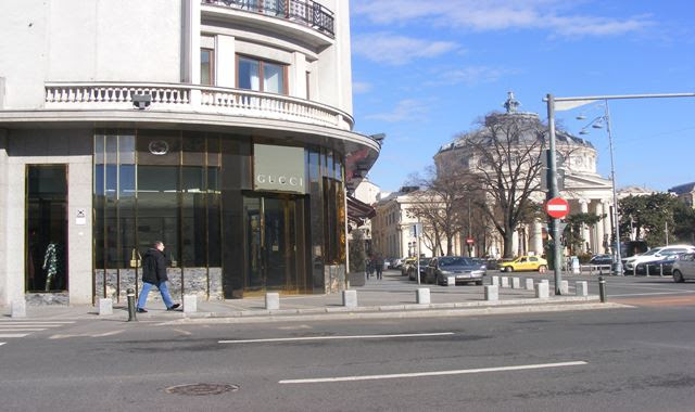 Romanian Athenaeum on Victoria Street Bucharest