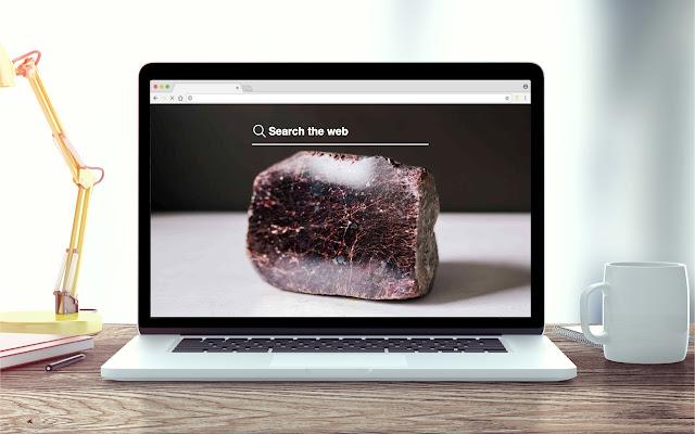 Garnet New Tab Stone Theme