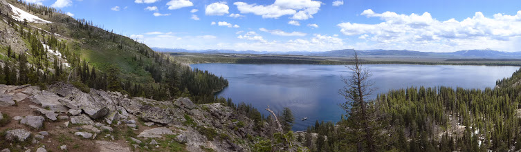 Photo: Jenny Lake from Inspiration Point