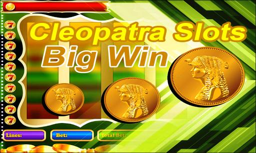Cleopatra slots Big WIn