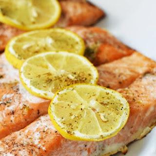 Terra's Kitchen Overview & Oven-Baked Lemon Herb Salmon.
