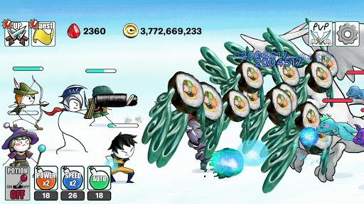 Code Triche Dragon Hunter Clicker  APK MOD (Astuce) screenshots 4