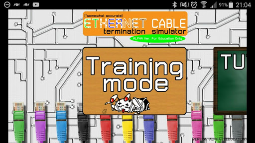 UTP Cable Simulator  screenshots 1