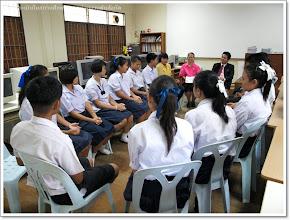 Photo: สัมภาษณ์นักเรียน