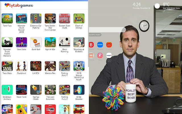 The Office Wallpaper Hd New Tab Theme