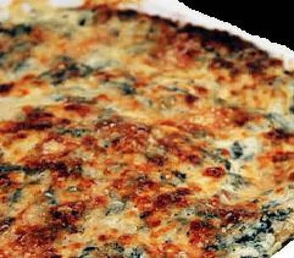 Beth Bowen's  Artichoke Spinach Casserole Recipe