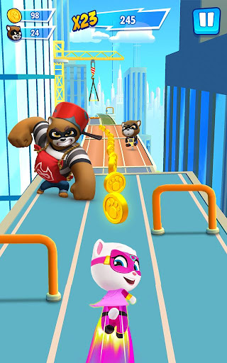 Talking Tom Hero Dash - Run Game 1.6.1.941 screenshots 9