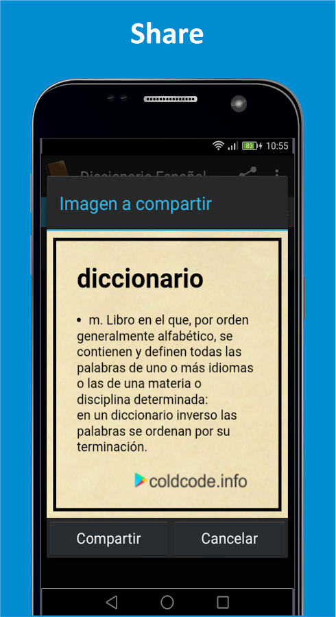 Dictionary Spanish- screenshot