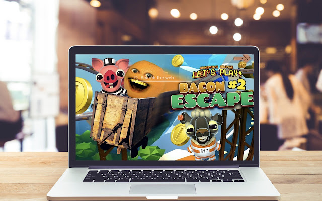 Bacon Escape HD Wallpapers Game Theme