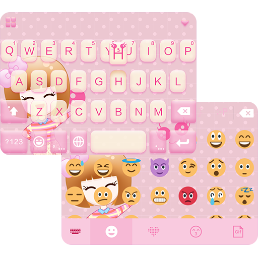 Marshmallow ☁️ iKeyboard Theme 漫畫 App LOGO-硬是要APP
