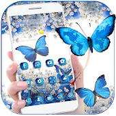 Flower Butterfly Dream Theme Wallpaper
