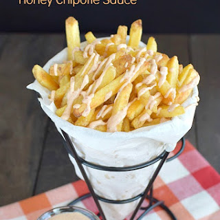 French Fries with Honey Chipotle Sauce Recipe
