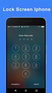 Iphone Lock Screen for PC-Windows 7,8,10 and Mac apk screenshot 1