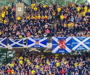 🎥 Op het veld maakten de Schotten weinig indruk, daarnaast wel