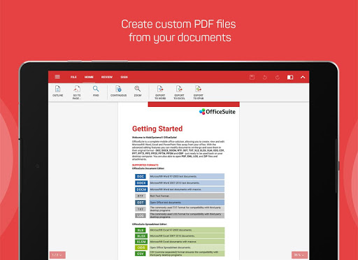 OfficeSuite + PDF Editor for PC