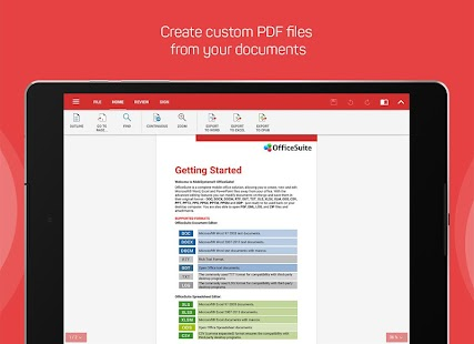OfficeSuite + PDF Editor- screenshot thumbnail