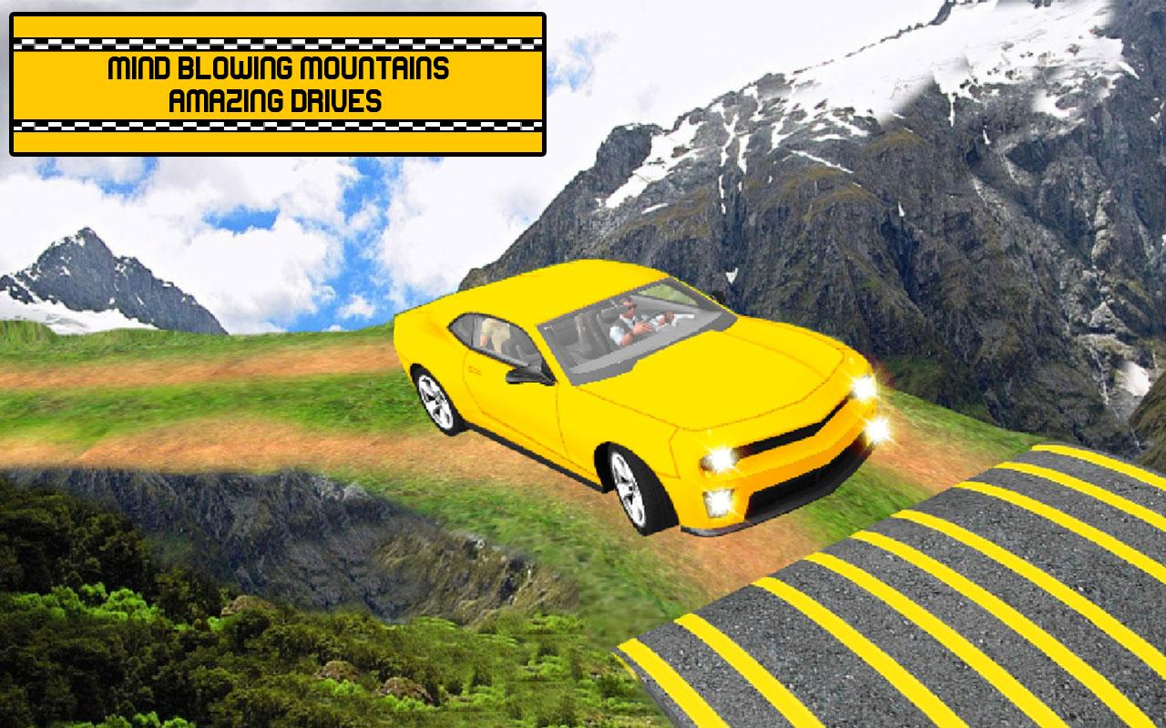 Hill Taxi Simulator Games 2018- screenshot