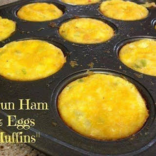 Cajun Ham & Egg Muffins.