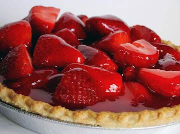 Strawberry Almond Pie
