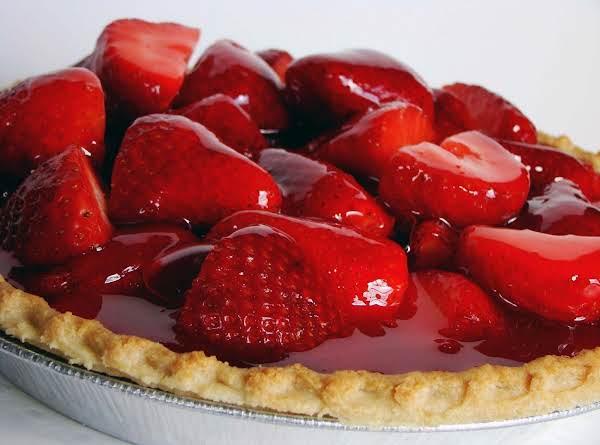 Strawberry Almond Pie Recipe