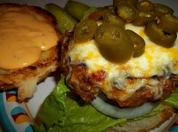 You can now add desired condiments to your sandwich. I used sliced jalapenos in...