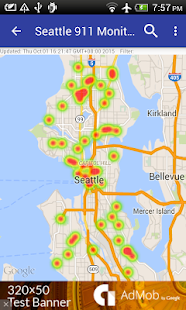 Seattle 911 Incidents Monitor- screenshot thumbnail