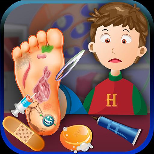 腳醫生:兒童休閒遊戲 休閒 App LOGO-硬是要APP
