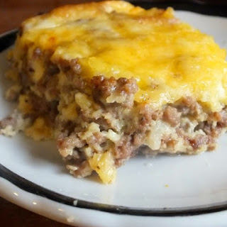 Ground Beef And Bacon Casserole Recipes
