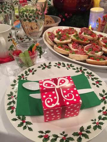 Festive Party Bagels