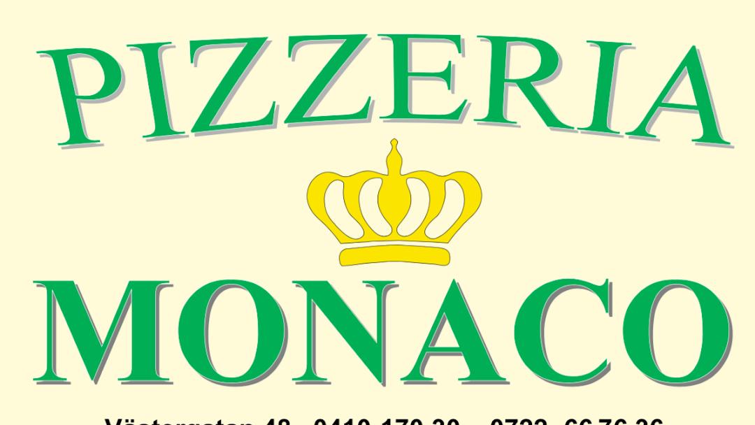 monaco pizzeria trelleborg meny