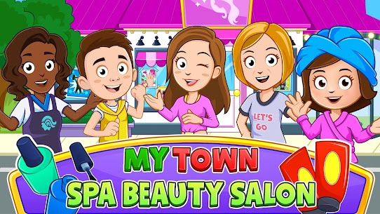 My Town : Beauty Spa Salon Free MOD (Paid Characters) 1