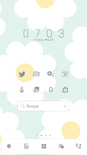 MintFlower DodolLauncherTheme