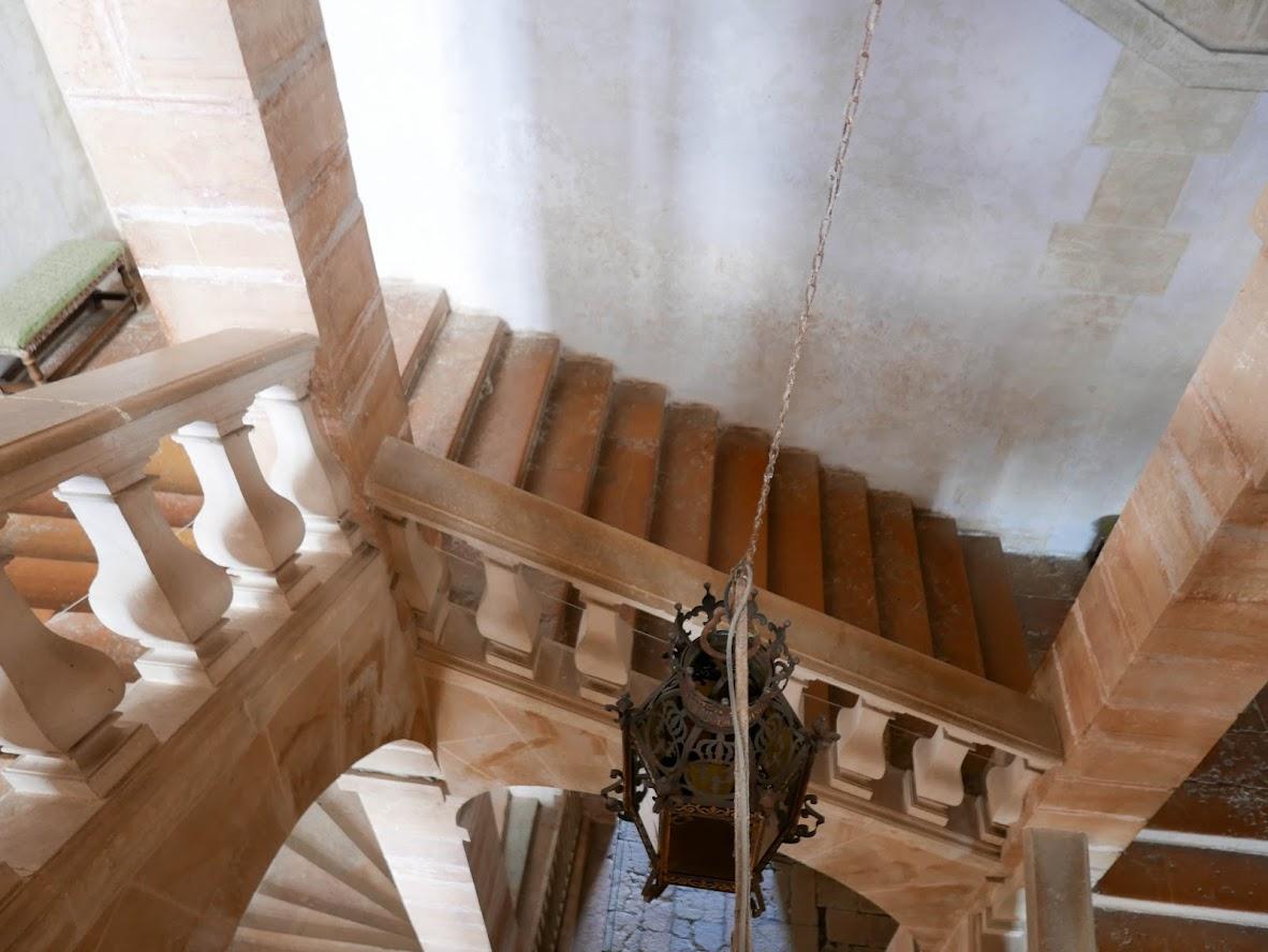 Escalier du Château de Cormatin