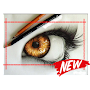 How Drawing eye APK icon