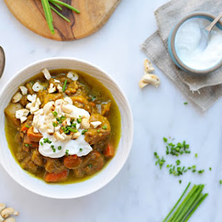 Slow-Cooker Pumpkin Curry Beef Stew.