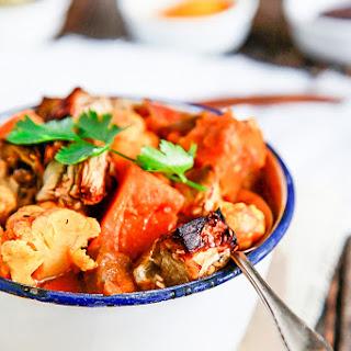 Roast Eggplant & Vegetable Curry